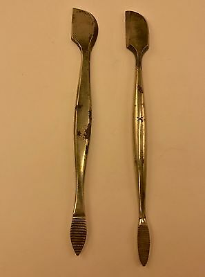 Surgical Elevator/Rapatary Neurosurgical Tools Set of Two Ca. 1890-1910