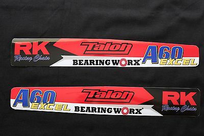 Honda Cr-Crf-Crfx Swingarm Protectors  Mx Decals Graphics Stickers