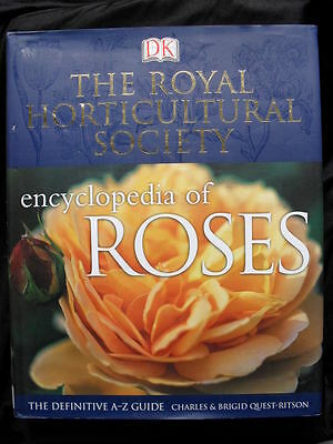 R.H.S. ENCYCLOPEDIA OF ROSES: Charles & Brigid Quest-Ritson: Stunning: HC2003