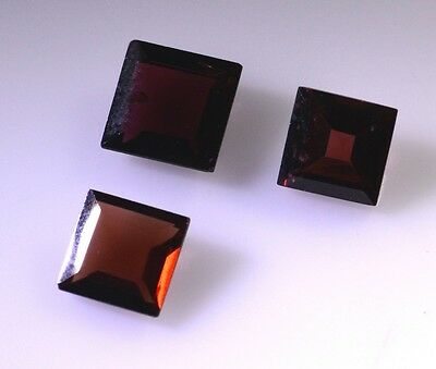 Garnet faceted Red Princess gems 0x0 1 pc