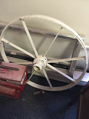 Antique Wagon Wheel