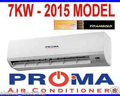 BRAND NEW PROMA 7.0kw REVERSE CYCLE SPLIT SYSTEM AIR CONDITIONER