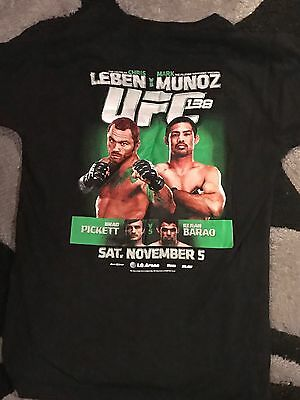 Official UFC 138 MMA TShirt