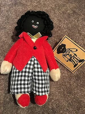 Boyle Goly Cloth Doll New With Tags Goliwog