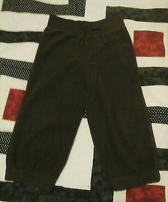 boys or girls jumping beans fleece sweat pants size 2t brown