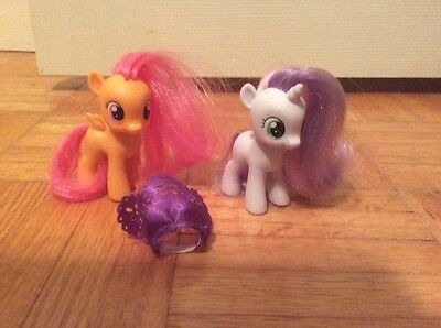 My Little Pony Scootaloo And Sweetie Belle Baby Ponies FIM