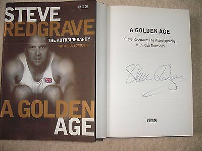 Steve Redgrave Signed Rowing Autobiography