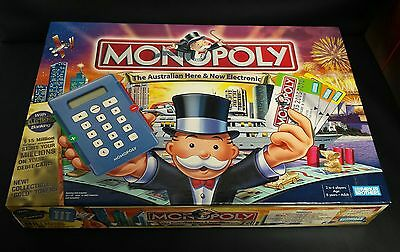 Monopoly The Australian Here & Now Electronic Edition Board Game - Complete