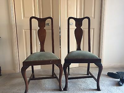 Assorted Vintage Dining Chairs