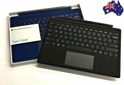 Genuine Microsoft Surface Pro 3 4 Type Cover Keyboard With Backlit AU Free Ship