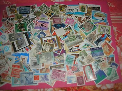 250 Timbres Etrangers Obliteres N° 33