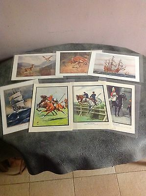 A Collection Of  Signed Prints From The 1920s.