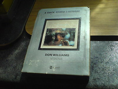 8 Track Tape - Don Williams - 'visions'