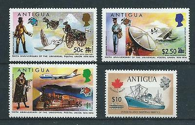 Antigua SG422-425 1975 Surcharges Unhinged Mint