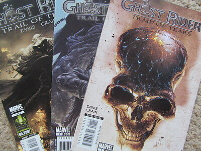 Ghost Rider: Trail of Tears 1-3 (2007)  LS from Ennis & Crain, High grade
