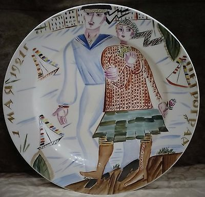 Russian collector plate, heavy, 27 sm. Maybe it's an old, rare and expensive
