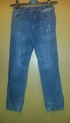Boys Blue Jeans Age 10 - 11 Years From Pep & Co