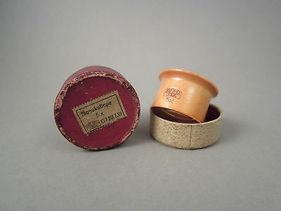 Vintage German jewellers eyeloupe 5x loupe magnifying glass by Carl Zeiss Jena b