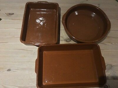 Terracotta cookware used