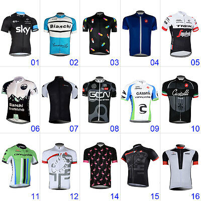 2017 New Men's Sportswear Cycling Jersey Short Sleeve Cycling Clothing Quick Dry