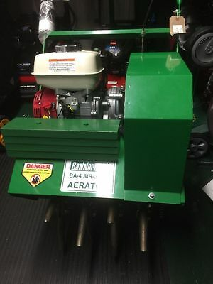 New Professional Bannerman BA-4 Air-Ject Hollow Tine Aerator w/ Honda GX120