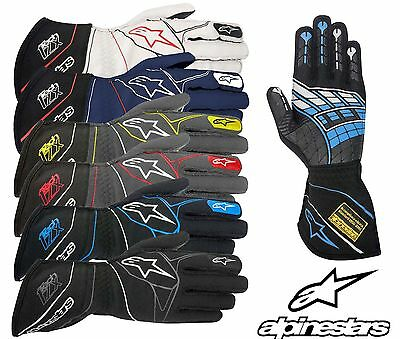 Alpinestars Tech 1-ZX Gloves, FIA Approved, Oval/Rally/Autograss Racing, SALE