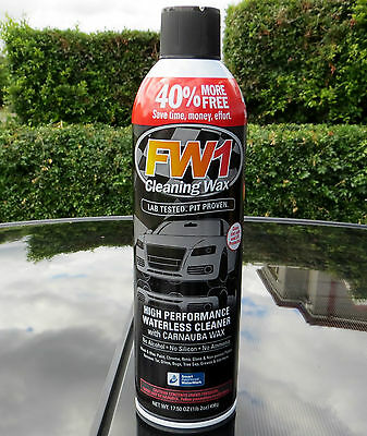 2 X FW1 High Performance Cleaning Wash & Wax 496g Polish Car Pickup Only