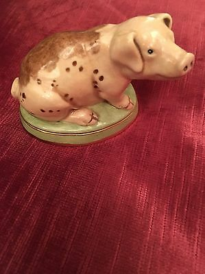 Halcyon Days China pig