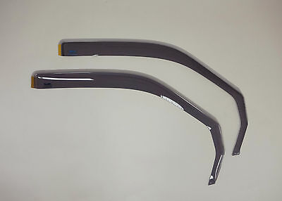 Climair Wind Deflectors Front Window Tinted Pair Fits Mercedes Vito (94-03)