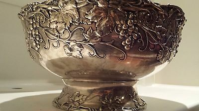 Huge Sterling Silver Punch Bowl Whiting