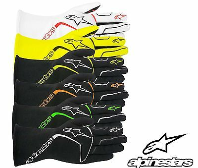 Alpinestars Tech 1 Race Gloves, FIA Approved Glove, Nomex, Oval & Rally, SALE