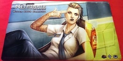 Android Netrunner Playmat WINTER 2015 CHAMPION Day Job