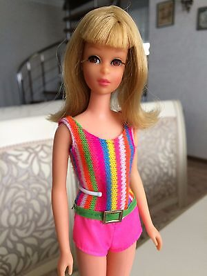 Vintage Bendable Leg Francie Barbie Doll 1966 - 1968 Blonde
