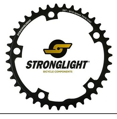Stronglight Road 7075 9/10 Speed Chainring 130mm BCD / 39T.  Fits Sram / Shimano