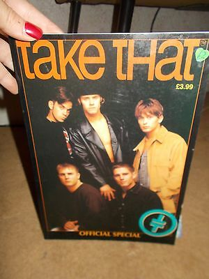 Take That 1994 Official Special-Boy Band-Robbie Williams