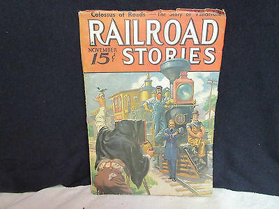 """Set of 3 Vintage """"Railroad"""" Magazines Published in 1936 (2) and 1943 (1)."""