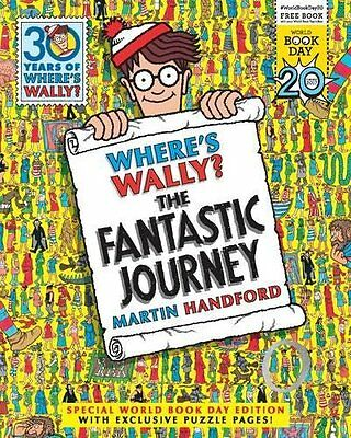 Where's Wally? The Fantastic Journey, Martin Handford-World Book Day 2017 New