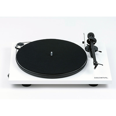 Pro-Ject (Project) Essential III Turntable/Tonearm/Cartridge White