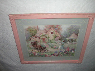 Home Interiors'' Ladys/ Buggy / Gazebo'' Picture  Gorgeous  15.5'' x 19.5''