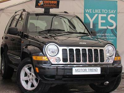 Jeep Cherokee 2.8 CRD Limited 4x4 Automatic Diesel SUV in Black
