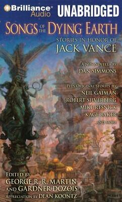 SONGS OF THE DYING EARTH Stories in Honor of Jack Vance George Martin / Koontz