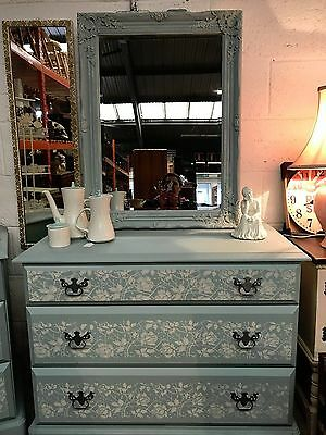 chest of drawers bedside cabinet shabby chic