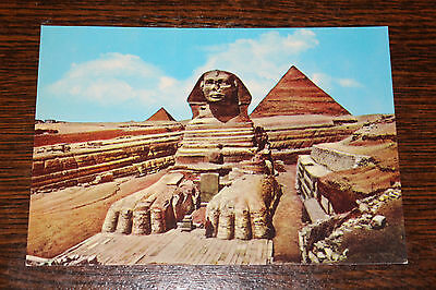 The Great Sphinx of Giza, Egypt Postcard