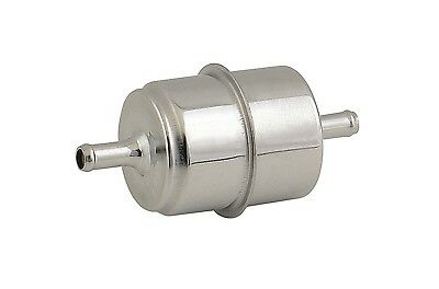 Mr. Gasket 9745 Chrome Plated Canister Fuel Filter