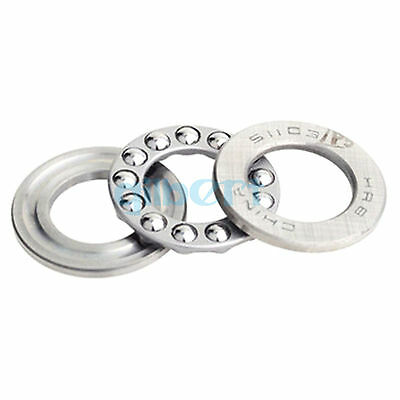 51103 ABEC-5/P5 17x30x9mm Axial Ball Thrust Bearing Set(2 Steel Races + 1 Cage)