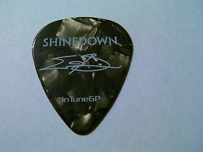 """Shinedown Eric Bass """"4 Life"""" authentic guitar pick"""