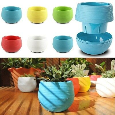Small Plant Pot Home Garden Office Decor Balcony Display Planter Outdoor Indoor
