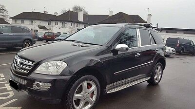 2007 Mercedes Ml 320 Cdi Sport A Black - No Reserve
