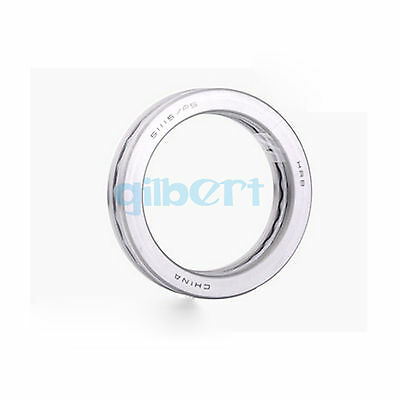 51115 ABEC-5/P5 75x100x19mm Axial Ball Thrust Bearing (2 Steel Races + 1 Cage)