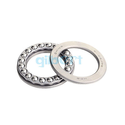 51108 ABEC-5/P5 40x60x13mm Axial Ball Thrust Bearing Set(2 Steel Races + 1 Cage)